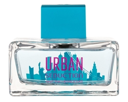 Urban Blue Seduction Woman